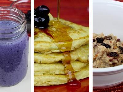 3 Desayunos con Avena - El Guzii