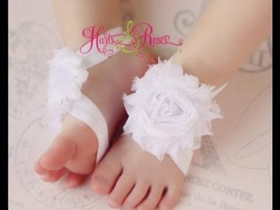Adornos De Pies Para Bebitas y Bebitos - Baby Diva Designs