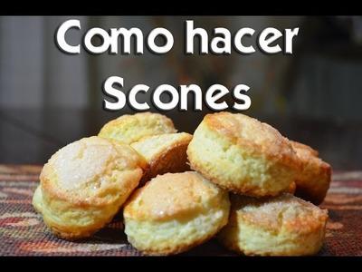 Como hacer Scones