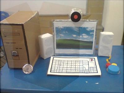 Computadora hecha a mano