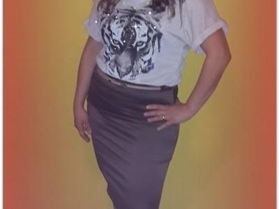 DIY How To Make A Skirt Tube - Hacer Una Falda Tubo A La Cintura
