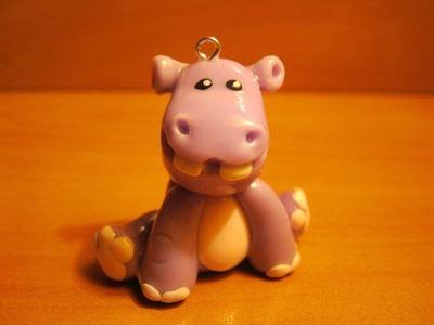 Hipopótamo en Porcelana fria