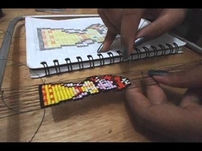 Llavero en mostacilla, tutorial