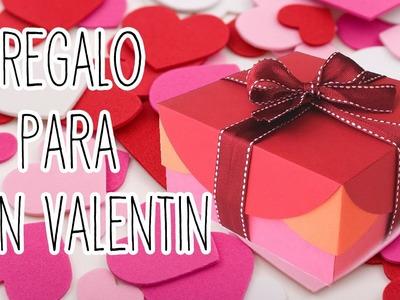 Regalo de aniversario. San Valentín - Tutoriales Belen