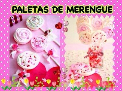 Tutorial - Paletas para San Valentín!