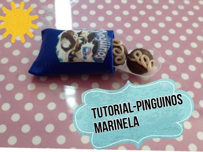 TUTORIAL-PINGUINOS MARINELA-porcelana fria-arcilla polimerica
