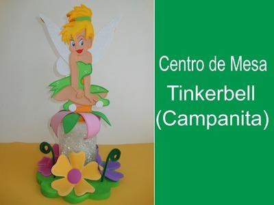 Centro de Mesa Tinkerbell (Campanita)