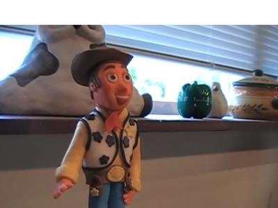 Como modelar el cowboy de Toy Story parte 1.Toy story cowboy topper
