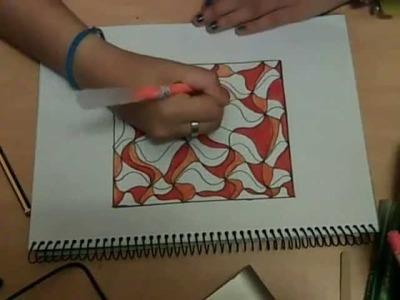 Dibujo abstracto, facil y bonitooo ;P