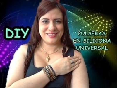 DIY PULSERA CON SILICONA UNIVERSAL