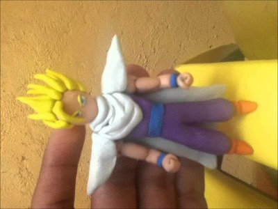 Gohan Ssj2 figura de plastilina