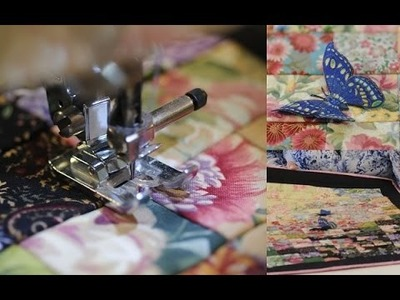 Quilting y Patchwork - Watercolor - Maquina NX450Q Brother -