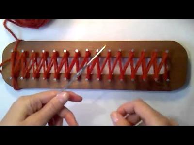 Video Tutorial Telar Maya Punto Cruzado - La Hilandera