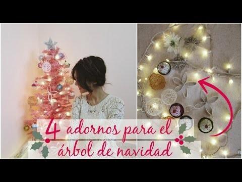 4 ideas para el árbol de navidad - DIY | Celhelíz
