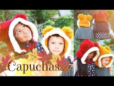 Capucha TUTORIAL FACIL | Tejiendo Con Erica♡