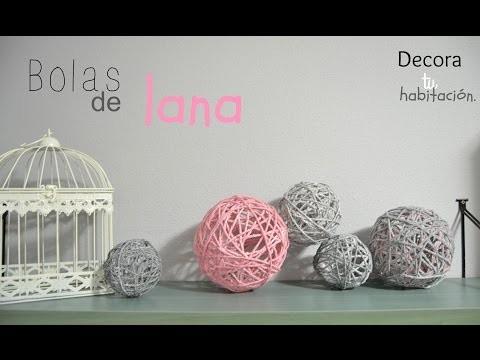 DIY. Cómo hacer BOLAS CON LANA. | It's Me Tamara.