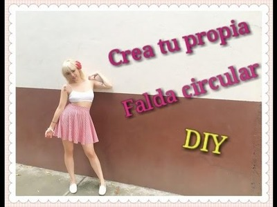 DIY - Crea tu Propia Falda Circular con Vuelo SIN MÁQUINA.