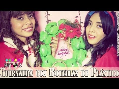 DIY: Guirnalda con Botellas de Plástico  ❤ ||| HeyyouTV!