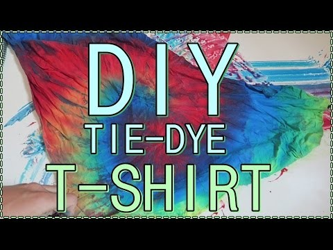 DIY | TIE-DYE T-SHIRT || HEY MIKE