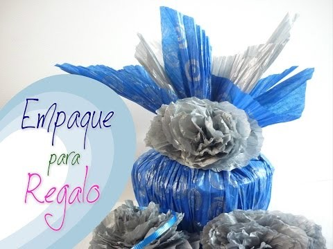 Manualidades:COMO envolver REGALO y DECORAR  Fácil DIY -  Like gift wrapping and decorate