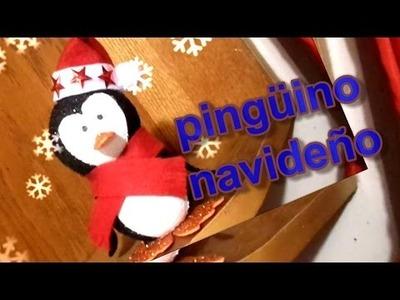 Pingüno *adorno navideño* DIY