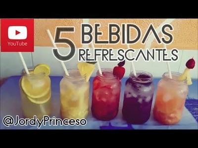 BEBIDAS REFRESCANTES Y DELICIOSAS - Jordy Princeso