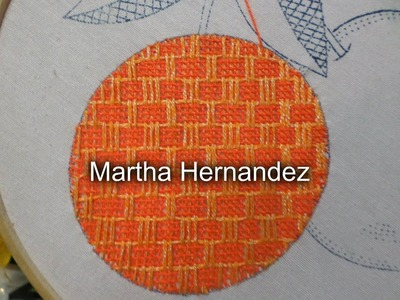 Bordado Fantasia Naranja # 3