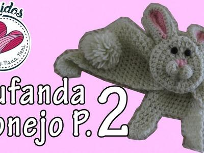 Bufanda de conejo | Parte (2.3) TUTORIAL