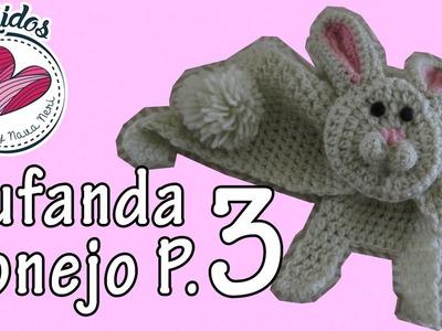 Bufanda de conejo | Parte (3.3) TUTORIAL