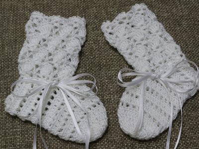 Calcetas o Botitas para Bebe Crochet