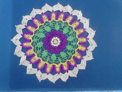 Carpeta crochet  ´´ Cecy´´ 1 de 2