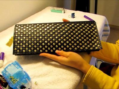 DIY Bolsa con  tachuelas (peticion)