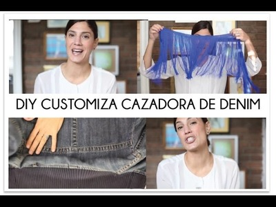 DIY transforma tu cazadora de denim