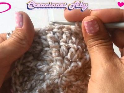 Gorra Baby a Crochet para Niña  2da  Parte (RECIEN NACIDO)
