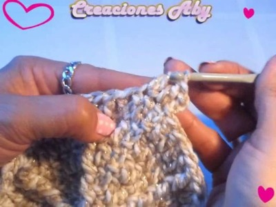 Gorra Baby a Crochet para Niña    4ta Parte  MEDIANA