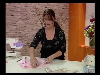 Liliana Villordo - Bienvenidas TV - Explica en costura un Tapadito Polar.