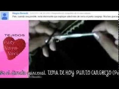 Punto Cangrejo TUTORIAL | En Vivo
