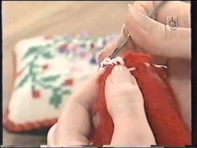 Puntos y Puntadas 209. Coser una manga de lana con Crochet.
