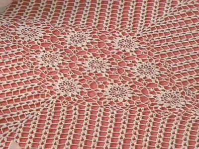 Tapete Triangular y.o Cuadrado a crochet