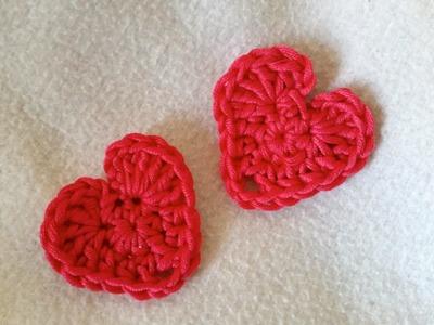 Tejer un corazón - corazón en crochet con subtitulo by BerlinCrochet