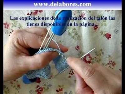 56. Tutorial calcetines con 5 agujas (2.4)