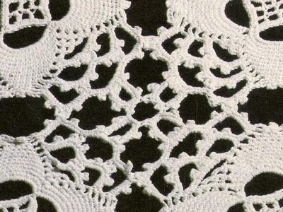 Camino de Mesa 1 a crochet para expertas