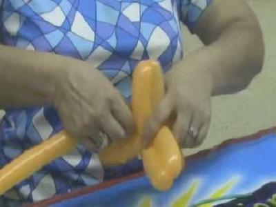 Curso de Globos en globoflexia, realizar flor con globos para colocarla en arreglos
