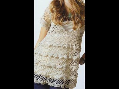 GRÁFICOS para tejer Túnica a crochet