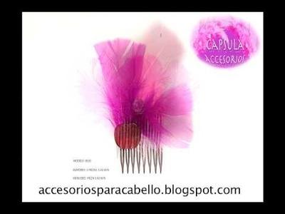 Lindos accesorios para el cabello  mexico
