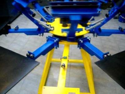 Maquinaria pulpos  para estampación textil y toda clase de maquinaria para screen