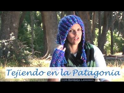 Mitones y gorro andino con rectángulos. Bárbara Langman