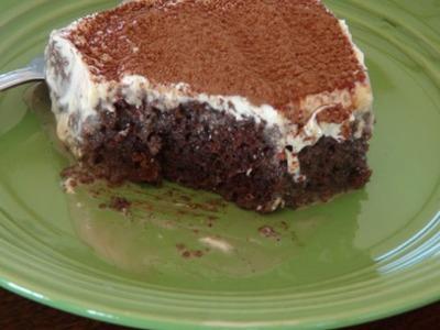 Pastel Tres Leche de Mocha - The Frugal Chef