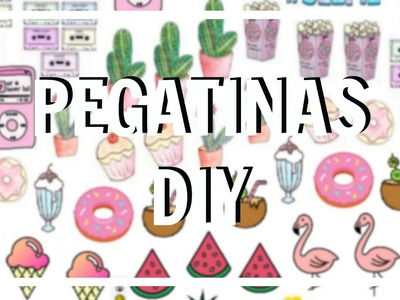 PEGATINAS. STICKERS DIY (FREE PRINTABLE) | Chicasinsentido DIY