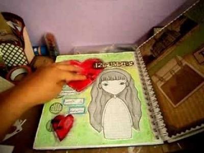 Scrapbook - Avances de Diario Scrapbook.smash book - Diario creativo